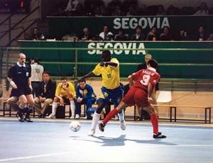 Brasil Choco Mundial Futsal 1996 (Foto: Divulgação/Fifa)