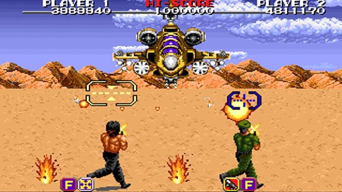 Antes do terrível Rambo: The Video Game o personagem teve bons jogos como Rambo 3 (Foto: Reprodução/VGMuseum)