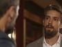 César surpreende Mario e diz que Alice pode estar grávida: 'Sempre quis ser pai'