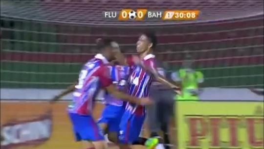 Gols Tocantinenses: Éder faz gol de empate do Bahia contra o Flu de Feira