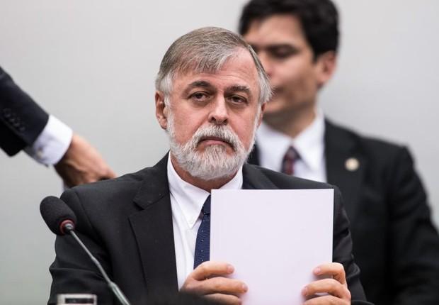 O ex-diretor da Petrobras Paulo Roberto Costa durante CPI da Petrobras: um dos principais alvos da Lava Jato (Foto: Marcelo Camargo/Agência Brasil)