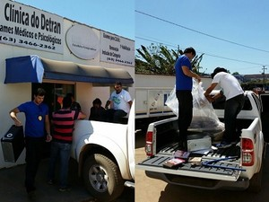 Operação realizou sete prisões no Pará. (Foto: Divulgação/Polícia Civil)