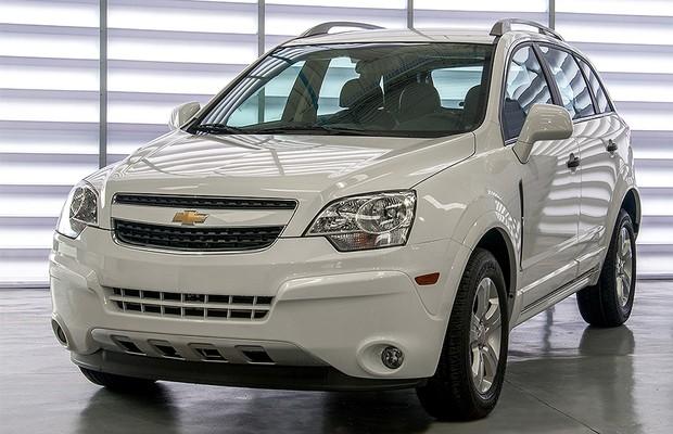 Chevrolet lança Captiva 2014 - AUTO ESPORTE | Notícias