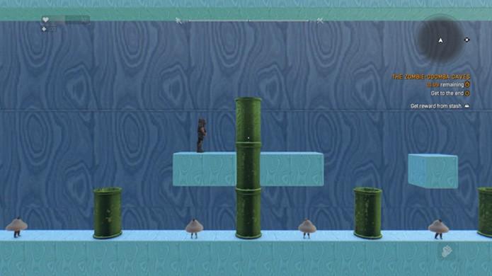 O mod 2D Mario Mania estende o secreto de Super Mario em Dying Light ao extremo (Foto: Reprodução/Steam)