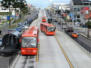 Curitiba terá linhas especiais de ônibus nos dias de jogos da Copa (Foto: Divulgação/Joel Rocha/SMCS)