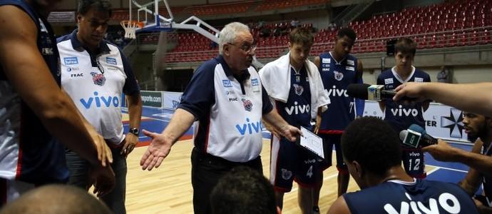 Lula Ferreira cobra jogadores do Franca (Foto: Raphael Oliveira/EAZ)