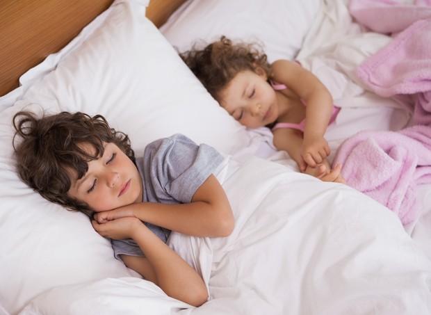 Crianças dormindo (Foto: Thinkstock)