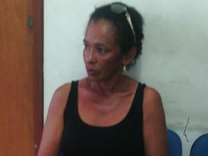 Maria José Gonçalves, 51, mãe de Cledenilson, linchado no MA (Foto: João Ricardo Barbosa / G1)