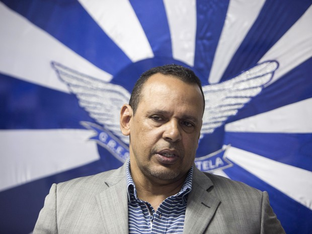 Marcos Falcon, presidente da Portela, assassinado na tarde desta segunda-feira (26) (Foto: Daniel Castelo Branco/Agência O Dia/Estadão Conteúdo)