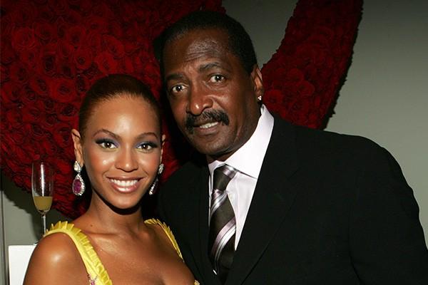 Beyonce e seu pai, Matthew Knowles (Foto: Getty Images)