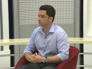 Secretário de estado de infraestrurura, André Rocha (Foto: Reprodução/Rede Amazônica no Amapá)