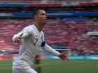 Sem muito brilho, Cristiano Ronaldo dá vitória a Portugal sobre o Marrocos