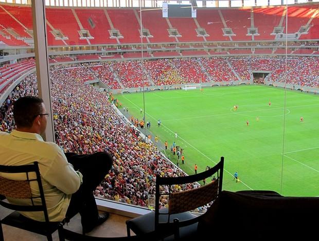 Estádio mané garrincha Funcionamento (Foto: Fabrício Marques)