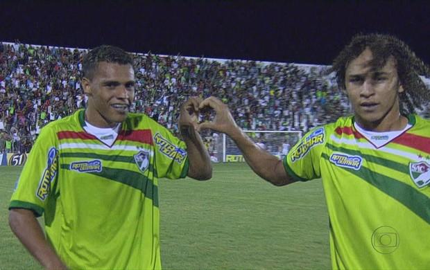 Salgueiro x Náutico - Elvis e Edmar (Foto: Reprodução / TV Globo)