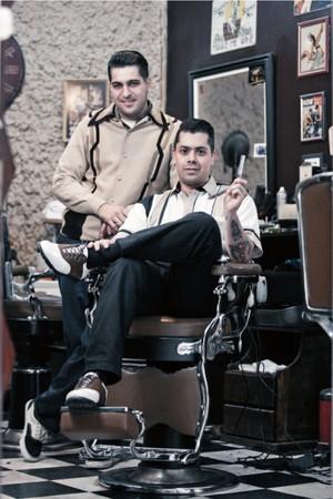 Barbearia 9 de Julho (Foto: Divulgação)
