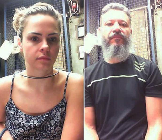 Ana Paula e Laércio falam sobre Paredão no Raio-X (Foto: Gshow)