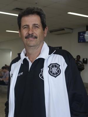 Duílio Dias, técnico do Rio Branco-ES (Foto: Richard Pinheiro/GloboEsporte.com)