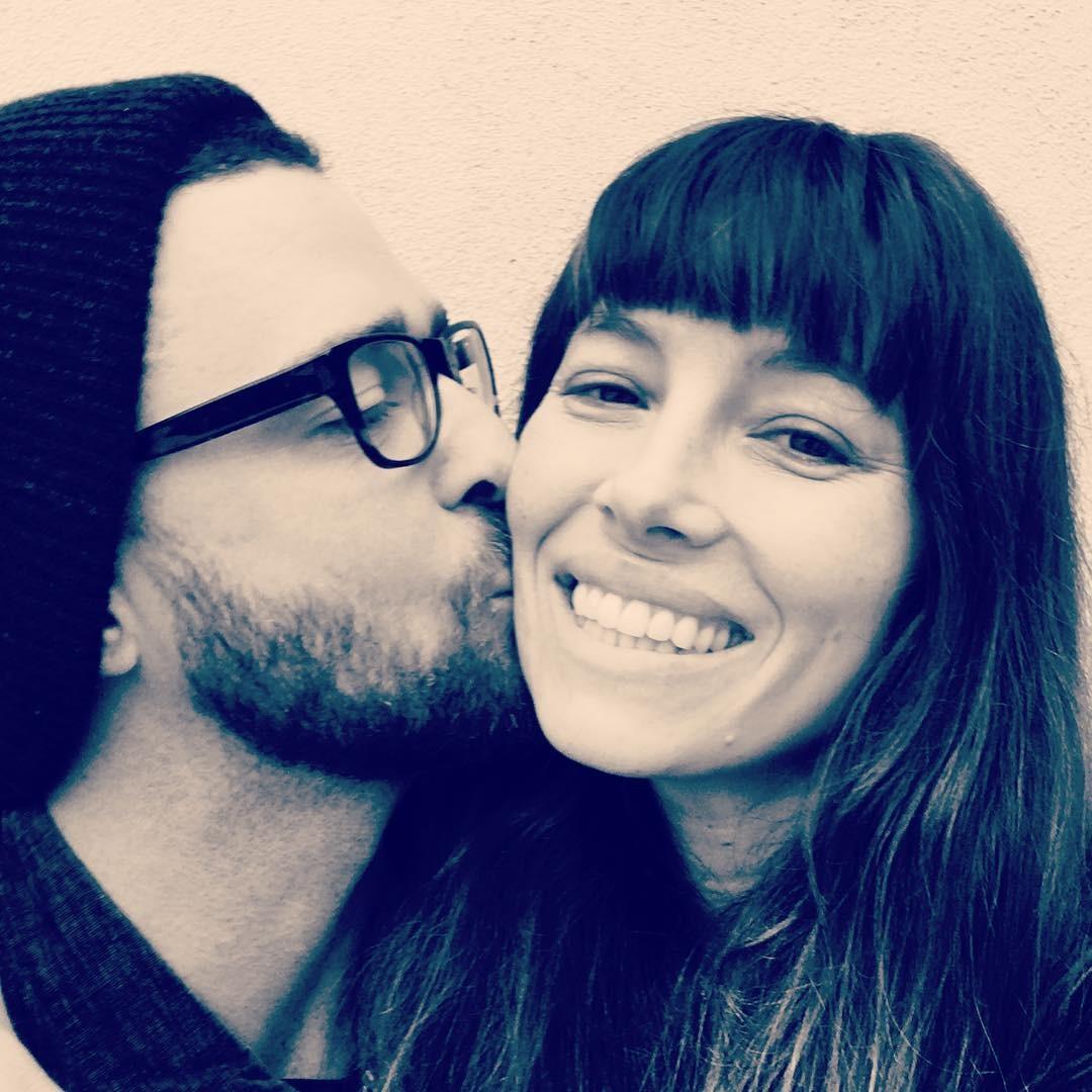 Justin Timberlake e Jessica Biel (Foto: Reprodução/Instagram)