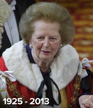 A  ex-premi britnica Margaret Thatcher (Foto: AFP)