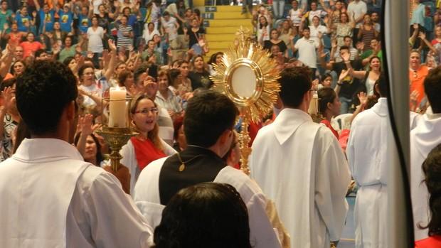 Renascer, evento religioso realizado em Fortaleza durante o Carnaval (Foto: Divulgação/Wallace Freitas)