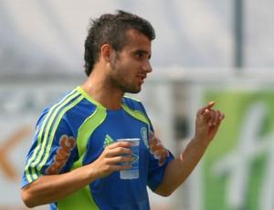 Maikon Leite, atacante do Palmeiras (Foto: Anderson Rodrigues / globoesporte.com)