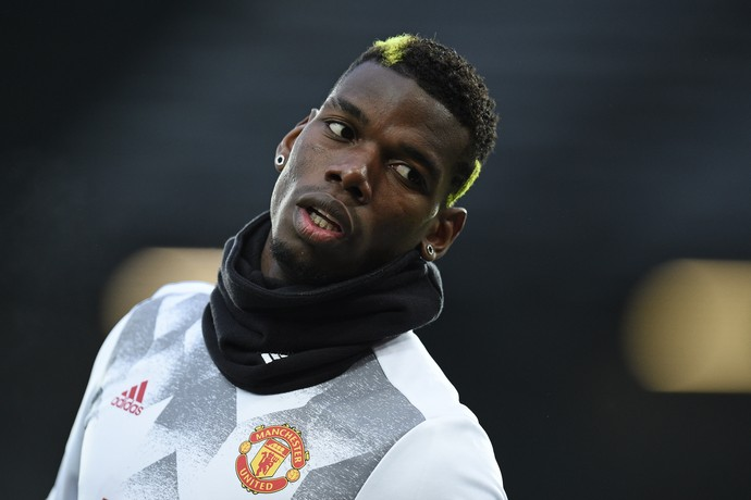 Pogba Manchester United (Foto: AFP)