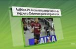 Atlético-PR encaminha empréstimo de Cleberson ao Figueira