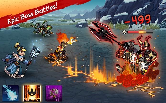 Honorbound é um RPG a moda antiga, mas com gráficos coloridos e possibilidade de capturar inimigos (Foto: Divulgação)