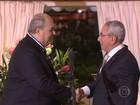 Roberto Irineu Marinho recebe de Portugal Ordem do Infante D. Henrique