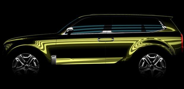 SUV conceito Kia (Foto: Divulgação)