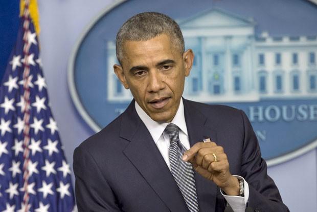 Obama comenta a situação na Ucrânia (Foto: AP Photo/Jacquelyn Martin)