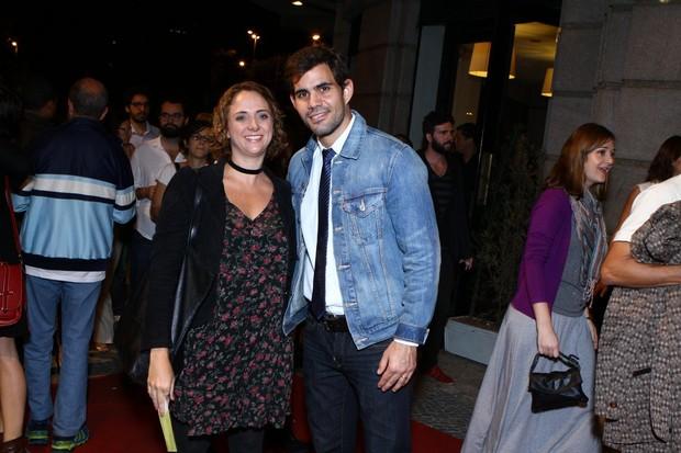 Letícia Isnard e Juliano Cazarré (Foto: Raphael Mesquita/Photorionews)