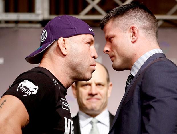 Wanderlei Silva e Brian Stann encarada UFC (Foto: Divulgação / UFC)