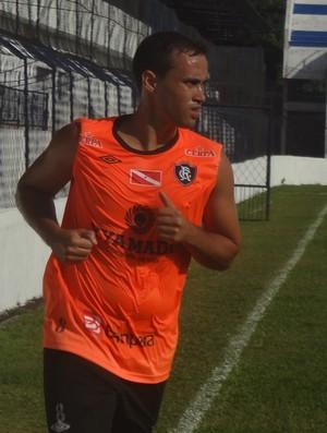 zagueiro Henrique Remo (Foto: Globoesporte.com)