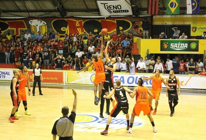 Final Liga Ouro Sport X Caxias (Foto: Guilherme Peixinho/Divulgação)