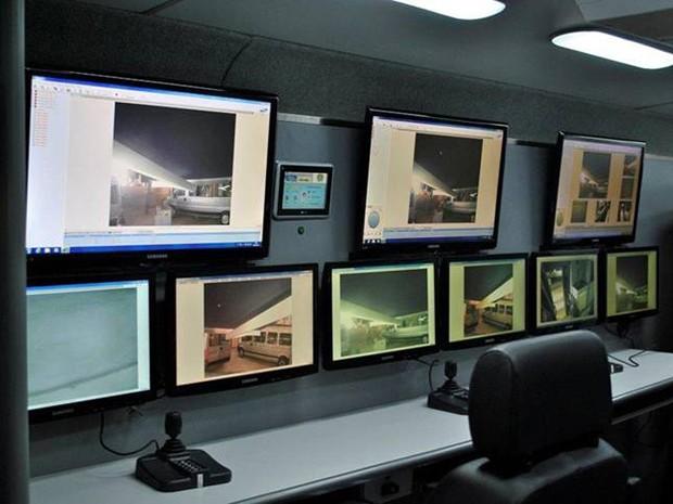 Base móvel servirá ao monitoramento de áreas onde há tráfico e consumo de crack (Foto: Divulgação/ Ministério da Justiça)