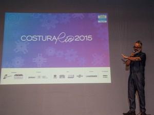 Ronaldo Fraga abriu o evento (Foto: Divulgação/Ascom PMP/Marcos Paulo Jr)