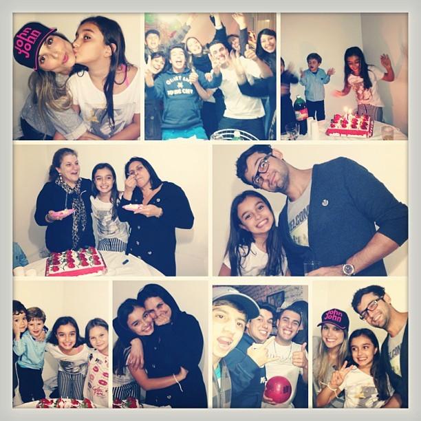 Flávia Viana comemorao aniversário da filha (Foto: Reprodução/Instagram)