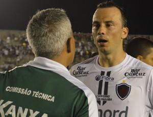 Plínio, Botafogo-PB (Foto: Cadu Vieira / GloboEsporte.com)