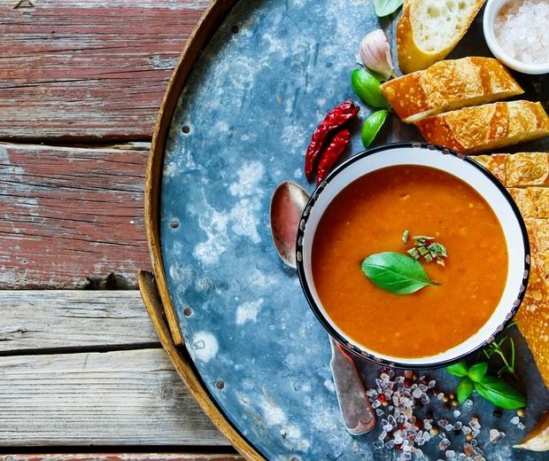 Gaspacho de tomates (Foto: Thinkstock)
