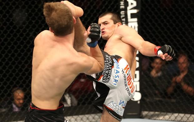Albert Tumenov e Matt Dwyer, UFC (Foto: Getty Images)