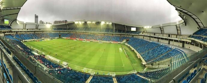 América-RN x ABC, na Arena das Dunas (Foto: Alexandre Lago)