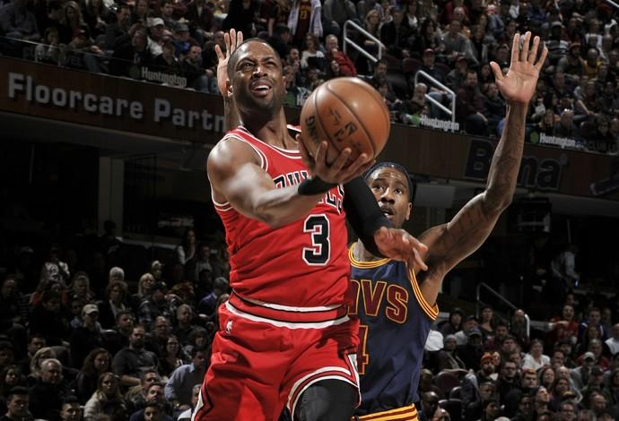 Chicago Bulls atuou como visitante contra o Cleveland (Foto: David Liam Kyle/NBAE via Getty Images)
