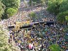 Manifestantes protestam contra Dilma e Lula no Rio Grande do Sul; FOTOS