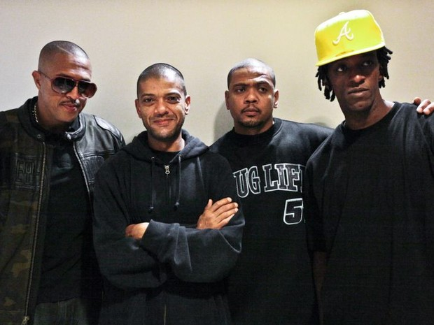 Banda Racionais MC's se apresenta em São José dos Campos (Foto: Divulgação)