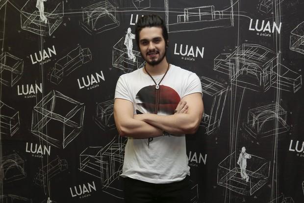 Luan Santana (Foto: Rafael Cusato/Brazil News)