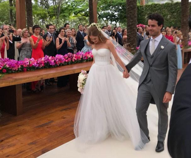 Marina Ruy Barbosa e Xandy Negrão se casam em Campinas (Foto: Glamour)