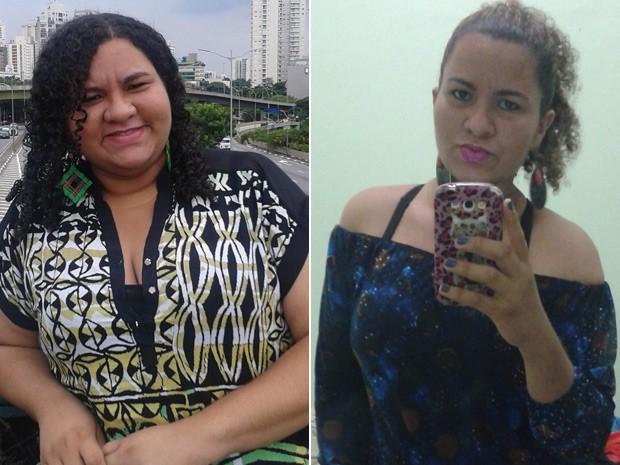 Vanessa Melo, de 27 anos, emagreceu 35 kg mudando alimentação e fazendo caminhadas (Foto: Vanessa Melo/Arquivo Pessoal)