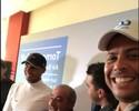 Juntos em torneio de golf, Ronaldo Fenômeno registra novo look de Nadal