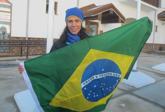 Jaqueline Mourão Jogos de Inverno Sochi (Foto: Amanda Kestelman)